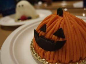 ジャック・オ・ランタン ~かぼちゃのムース