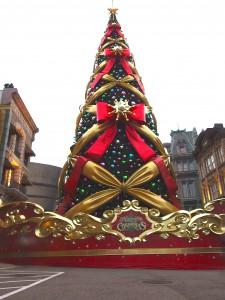 USJ世界一のクリスマスツリー2014